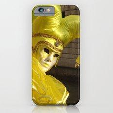 Bright yellow Mask iPhone 6s Slim Case