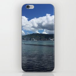 Wellington Harbour Fountain iPhone Skin