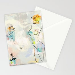 She Was Magic Stationery Cards