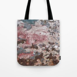Cracking Paint and Rust Abstract Tote Bag