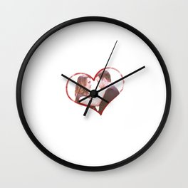 Alex and Jo Wall Clock
