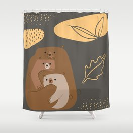 MOM AND SONS Shower Curtain