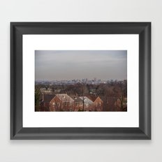 Baltimore is a Graveyard  Framed Art Print