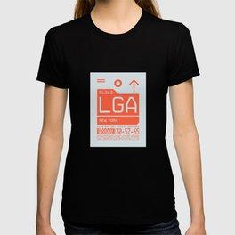 Luggage Tag C - LGA New York LaGuardia USA T-shirt