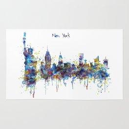 New York skyline Rug