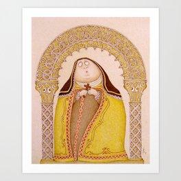 Teresa d'Avila Art Print
