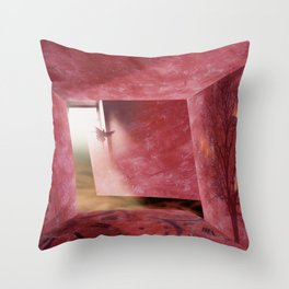 At What Time Does The War Start? Throw Pillow