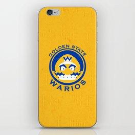 Golden State Warios - Mushroom Kingdom Champs iPhone Skin