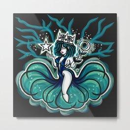 Nocturnal Goddess Metal Print