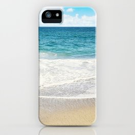 beach vibes iPhone Case