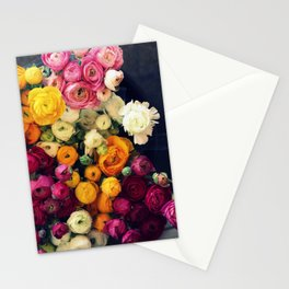 Loads of Ranunculus Stationery Cards