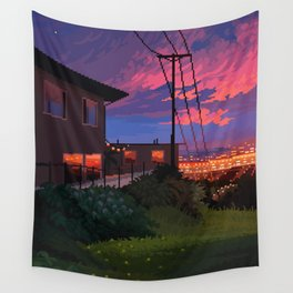 Calm Overlook Wall Tapestry
