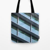 architecture Tote Bags featuring Architecture by Alex Dodds