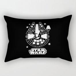 Falcon Emoji Rectangular Pillow