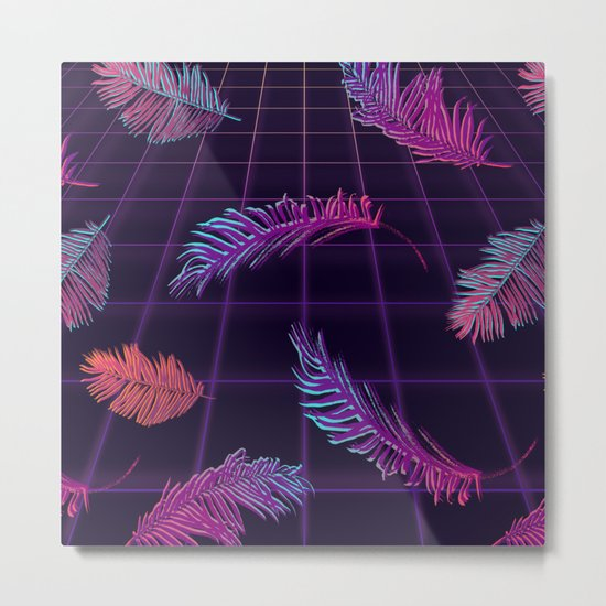 Synthwave Palm Leaves by edmproject