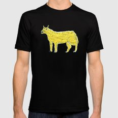 angry dog MEDIUM Mens Fitted Tee Black