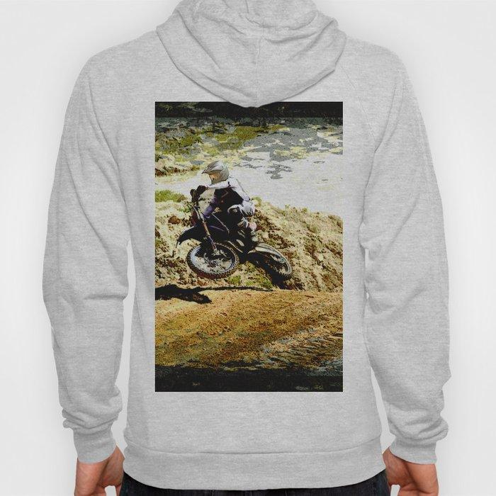 Dirt-bike Racer Hoody