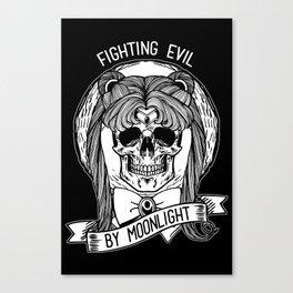 Fighting Evil Canvas Print