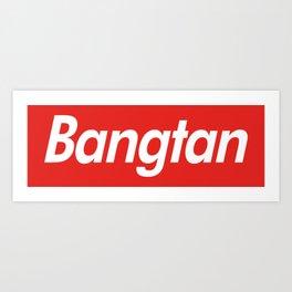 BTS Bangtan Box Logo Art Print
