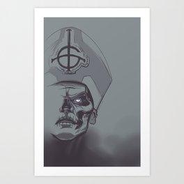 In Papa We Trust Art Print
