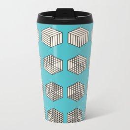 Sequential Metal Travel Mug