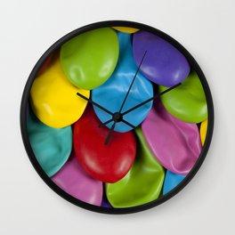 Mermaid Scales Wall Clock