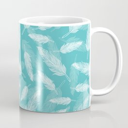 Seamless feathers pattern Coffee Mug