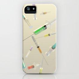 Syringe frenzy iPhone Case