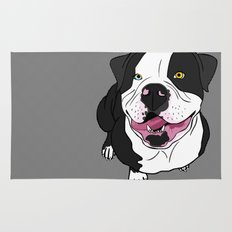 Bubba, the American Bulldog Rug