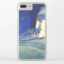 salty wind Clear iPhone Case