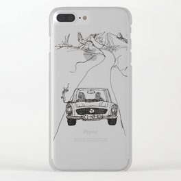 looking for salvation Clear iPhone Case