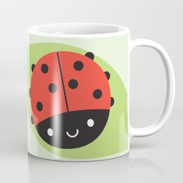 Kawaii Ladybird Coffee Mug