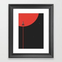 to new horizons Framed Art Print