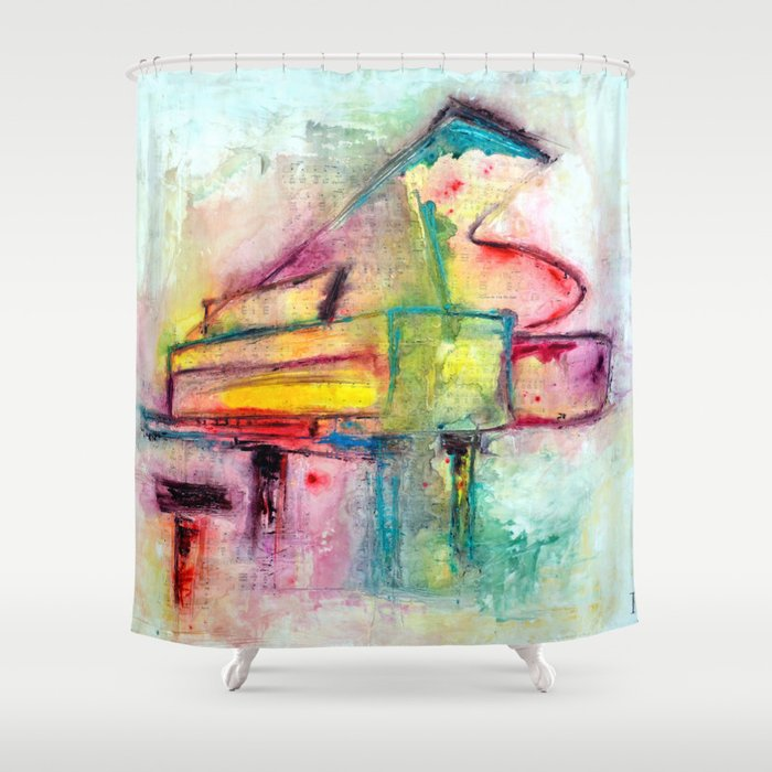 Keys to the soul Shower Curtain