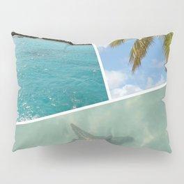 Caribbean Photo Collage - Isla Saona Pillow Sham
