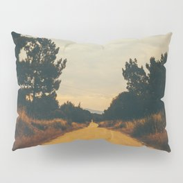 Vintage Faded Dusty Country Dirt Road Pillow Sham