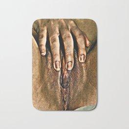 Her Hand Bath Mat
