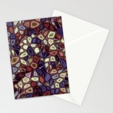 Fractal Gems 01 - Fall Vibrant Stationery Cards