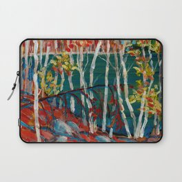 In the Northland / Dennis Weber / ShreddyStudio Laptop Sleeve