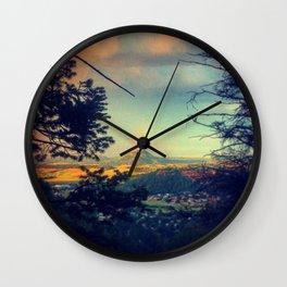 End of Rainbow 1 Wall Clock