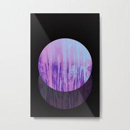 Neon moon Metal Print