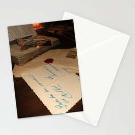 Antique memories Stationery Cards