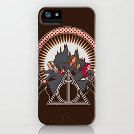 Dumbledore's Angels  iPhone Case