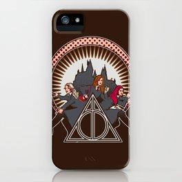 Dumbledore's Angels  iPhone Case