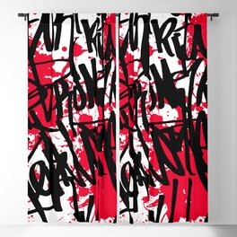Graffiti Blackout Curtain