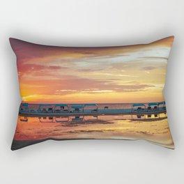 Sunset in Coche Island _ Venezuela Rectangular Pillow