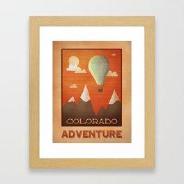 Colorado Adventure Framed Art Print