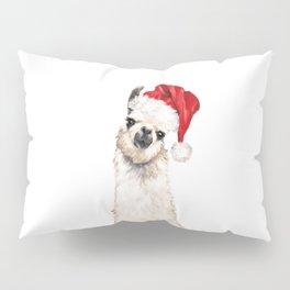 Christmas Llama Pillow Sham