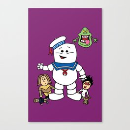 Ghostbusters- Ghost Toddlers Canvas Print
