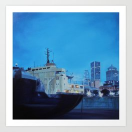 Old Port Montreal Art Print